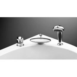 Смеситель BAS VICTORIA на борт ванны с каскадным изливом