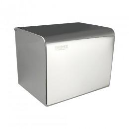 BRIMIX - Держатель туалетной бумаги закрытый короб, 160х135х132 мм из нержавеющей стали 304 , хром 79908