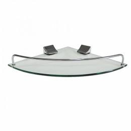 BRIMIX - Полка стеклянная угловая 10101