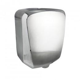 САНАКС - Сушилка для рук СУПЕРТОНКАЯ , скоростная , антивандальная ,корпус из нержавеющей стали, матовая с хромированными вставками 1200W 6952