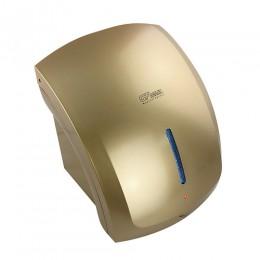 GFmark - Сушилка для рук , корпус пластик АБС цвет сатин золото ,с неоновой подсветкой , КЛАССИКА 1800W 6901