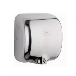 САНАКС - Сушилка для рук , скоростная , антивандальная корпус из нержавеющей стали , хромированная 1800W 6950