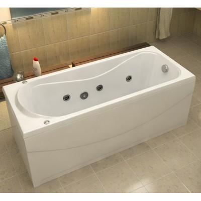 Купить Акриловая ванна BAS Атланта 170х70 гидромассажная, с каркасом
