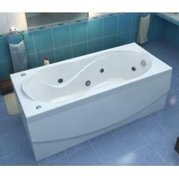 Акриловая ванна BAS Ямайка 180х80 гидромассажная, с каркасом