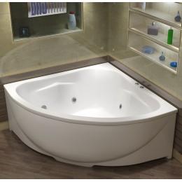Акриловая ванна BAS Империал гидромассажная, с каркасом