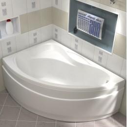 Акриловая ванна BAS Вектра 150x90 без гидромассажа Левая, с каркасом