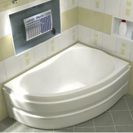 Акриловая ванна BAS Алегра 150x90 без гидромассажа Правая, с каркасом