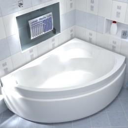Акриловая ванна BAS Лагуна 170x110 без гидромассажа Правая, с каркасом