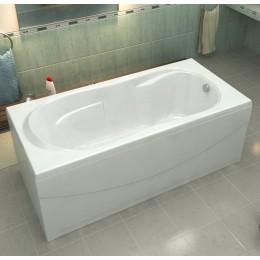 Акриловая ванна BAS Ахин 170x80 без гидромассажа, с каркасом