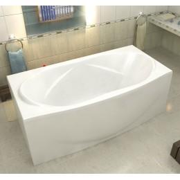 Акриловая ванна BAS Фиеста 194x90 без гидромассажа, с каркасом