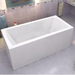 Акриловая ванна BAS Индика 170x80 без гидромассажа, с каркасом