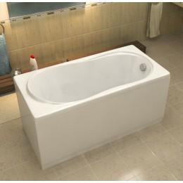Акриловая ванна BAS Лима без гидромассажа, с каркасом
