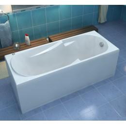 Акриловая ванна BAS Нептун 170х70 без гидромассажа, с каркасом