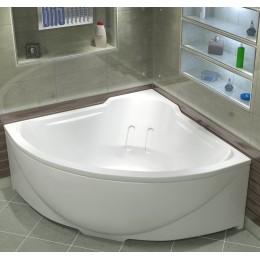 Акриловая ванна BAS Ирис 150x150 без гидромассажа, с каркасом