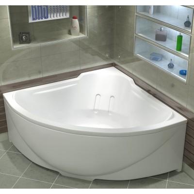 Ванна акриловая BAS Ирис 150x150 без гидромассажа, с каркасом