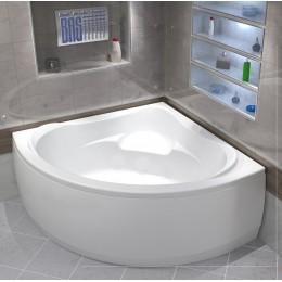 Акриловая ванна BAS Мега 1600х1600 без гидромассажа, с каркасом