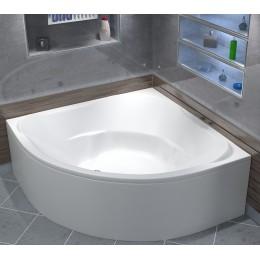 Акриловая ванна BAS Ривьера 161x161 без гидромассажа, с каркасом