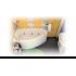 Ванна акриловая Triton Белла правая 1400*760