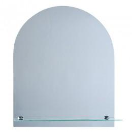 САНАКС - Зеркало обычное ,закруглённое, 500х600мм, полка 500мм 40172