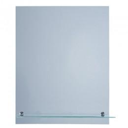 САНАКС - Зеркало обычное ,прямоугольное, 500х600мм, полка 500мм 40111