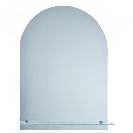 САНАКС - Зеркало обычное ,закруглённое, 500х700мм, полка 500мм 40173